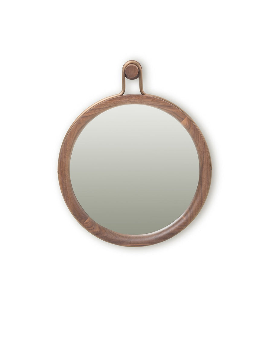 Stellar Works Utility Round Mirror (Small) - The Hackney Emporium