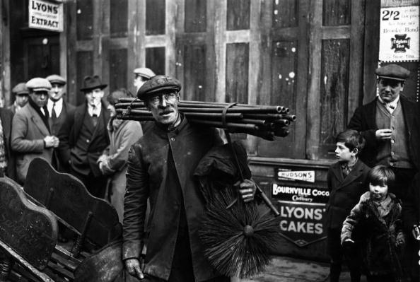 Chimney Sweep -  East End Photography - The Hackney Emporium