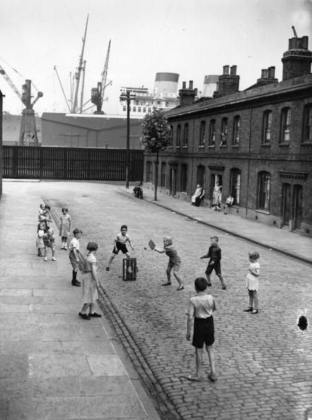 Street Cricket - East End Photography - The Hackney Emporium
