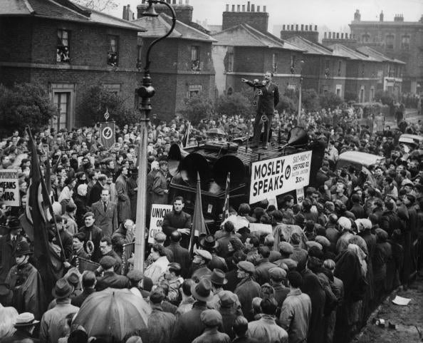 Oswald Mosley - East End Photography - The Hackney Emporium