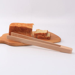 Wooden Tongs | Wood Kitchen Tongs | Safe Food Tongs | Kitchen Tools