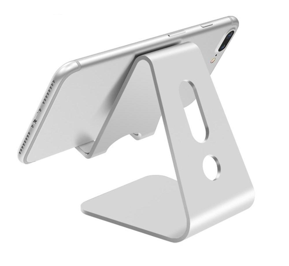 Mobile Phone Holder Stand | Aluminium Alloy Metal Tablet Stand | Universal Holder for iPhone X/8/7/6/5 Plus | Samsung | iPad