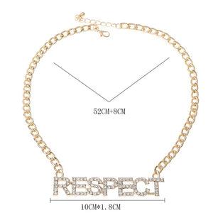 Respect the Queen of Soul Aretha Commemorative Necklace and Earring Set