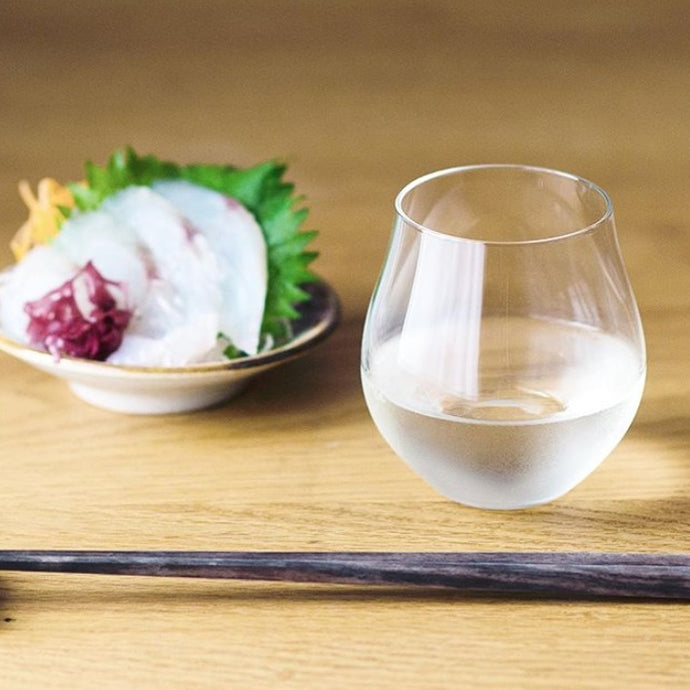 【ADERIA】Craft Sake Glass はなやか 華