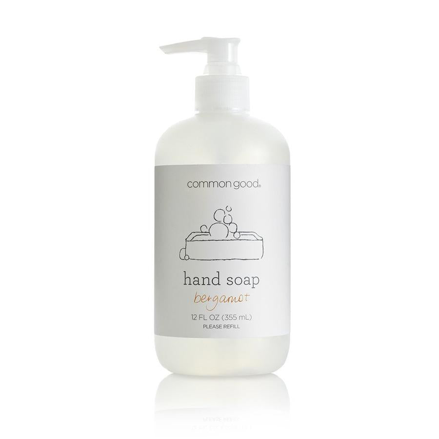 【Common Good】Hand Soap Bergamot 洗手液 佛手柑