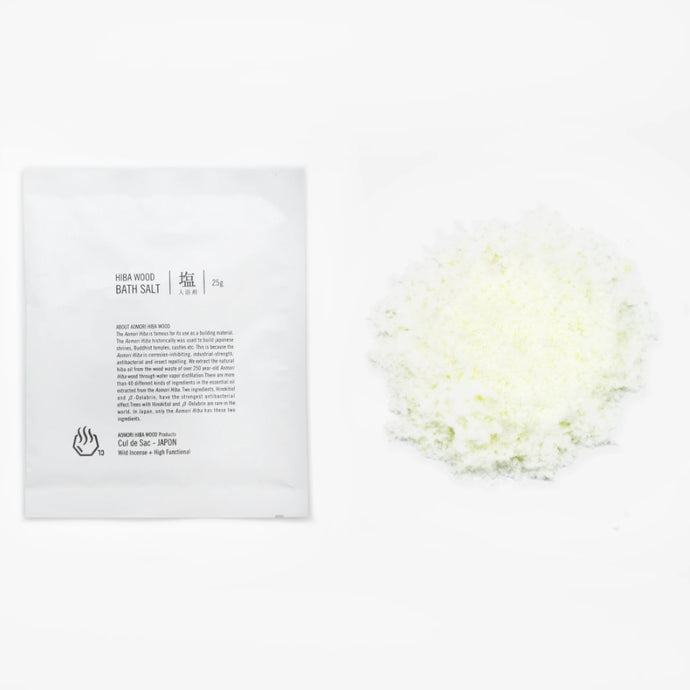 【Cul de Sac - JAPON】HIBA BATH SALT 浴鹽