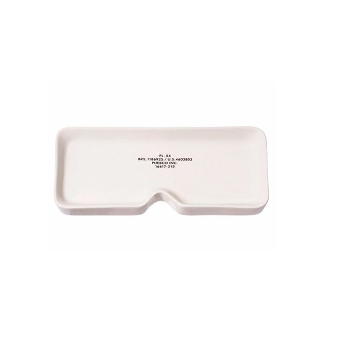【PUEBCO INC.】GLASSES TRAY SQUARE 眼鏡造型陶瓷置物盤