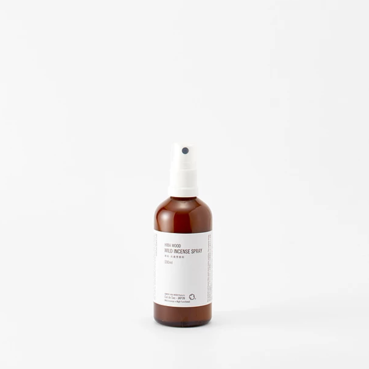 【Cul de Sac - JAPON】WILD INCENCE SPRAY 消臭・抗菌芳香剤 100ml