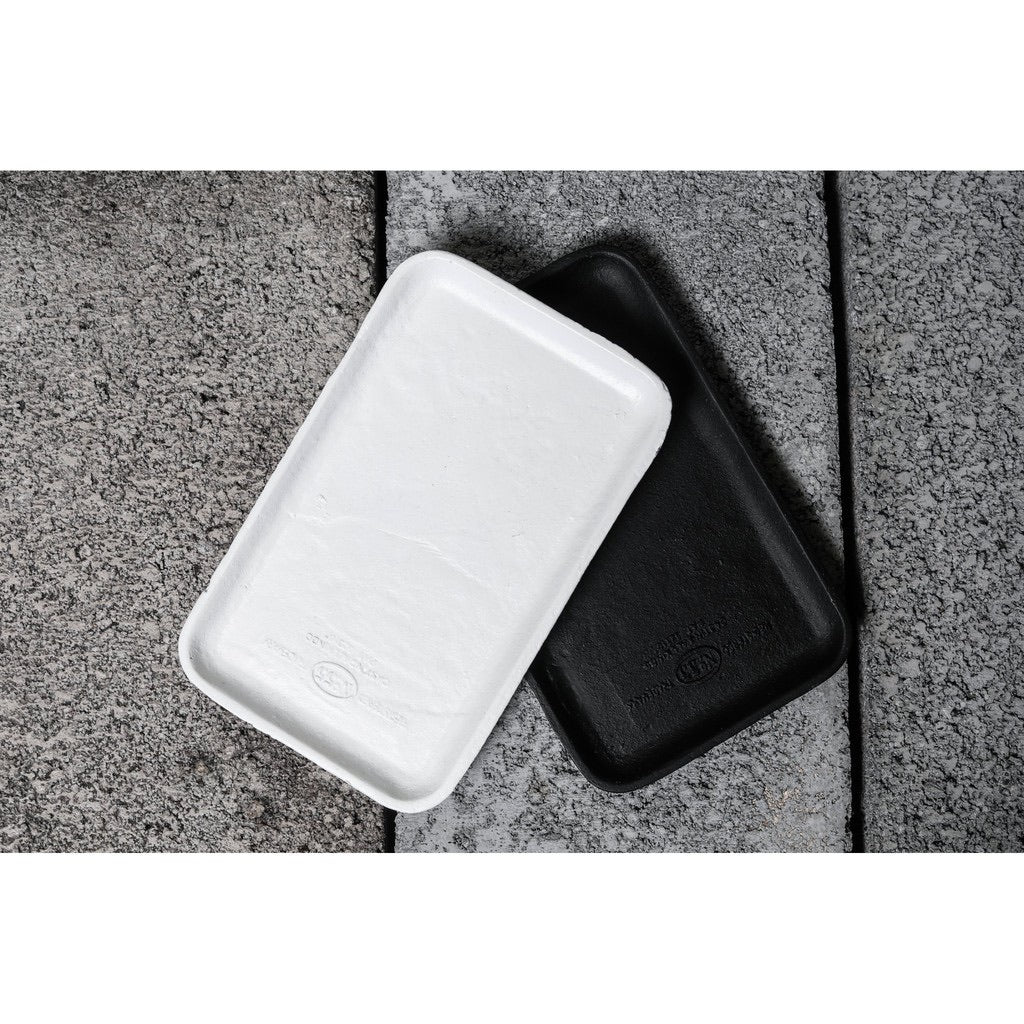 【PUEBCO INC.】CAST IRON TRAY - WHITE