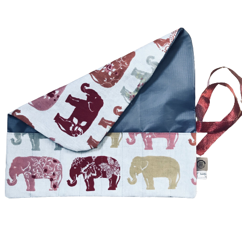 Utensil/brush storage roll - Elephant