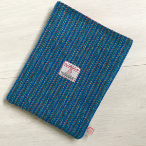 Harris Tweed® Turquoise Kaona Book Sleeve / Tablet Sleeve