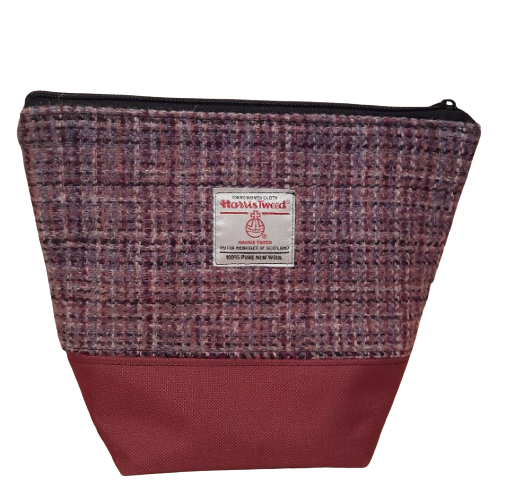 Harris Tweed  toiletry/cosmetic bag