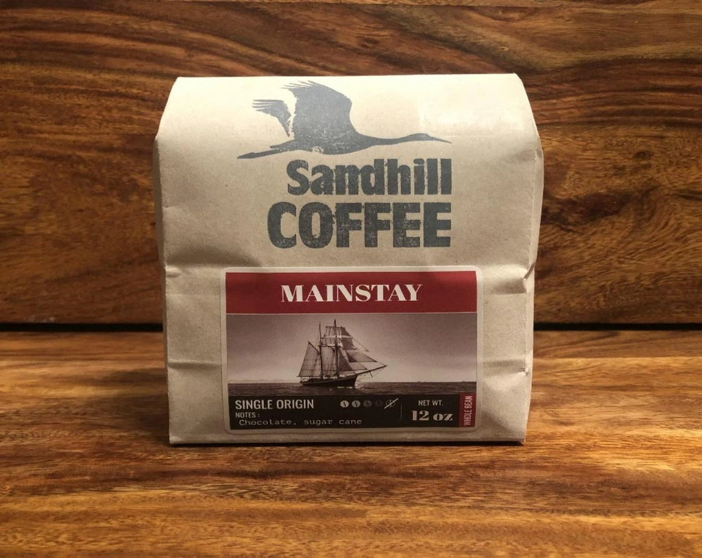 Mainstay — Dark Roast - sandhillcoffee