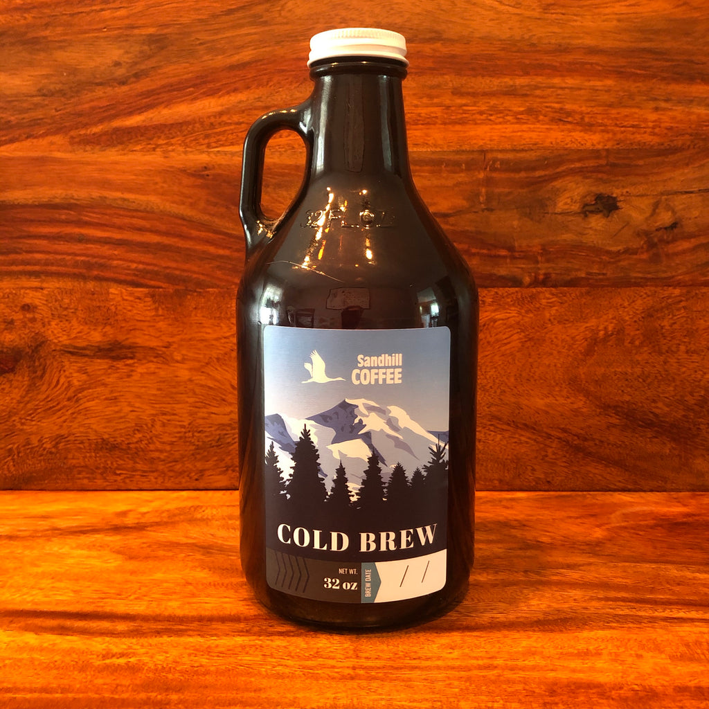 Cold Brew - 32oz Growler (Local Delivery or Market Pickup Only) - sandhillcoffee