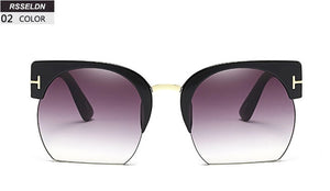 RSSELDN Semi-Rimless Sunglasses ( 9 models available) - Top E-Shop