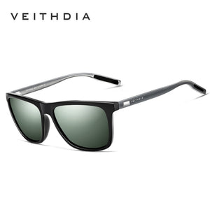 VEITHDIA Retro Aluminum Sunglasses (7 models available) - Top E-Shop