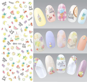 1 Sheet Rocooart (and More) Water Transfer Nail Art Decorations - Top E-Shop