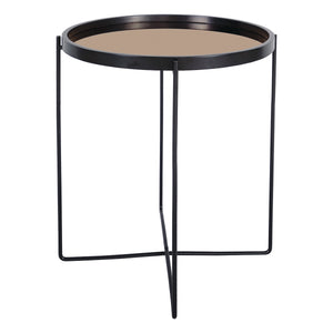 Anzio Side Table Rose Gold