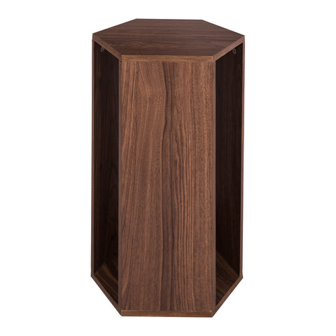Erfurt Hexagonal Table Walnut Veneer