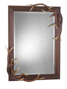 Antler Bevelled Mirror