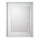 Swan Rectangular Rain Drop Mirror