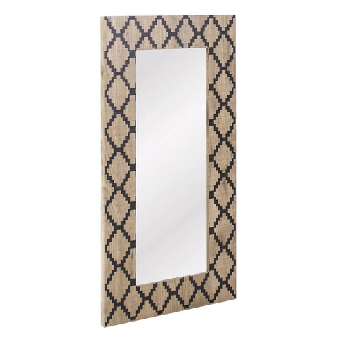 Tovey Rectangular Mirror Damond Effect