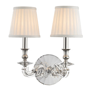 Lapeer WALL SCONCE 1292-PN-CE Hudson Valley Lighting