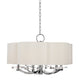 Garrison CHANDELIER 1426-PN-CE Hudson Valley Lighting