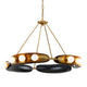HOPPER Chandelier 271-012-CE Corbett Lighting