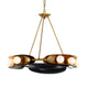 HOPPER Chandelier 271-09-CE Corbett Lighting
