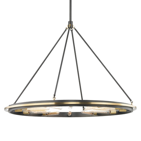 CHAMBERS PENDANT 2745-AOB-CE Hudson Valley Lighting