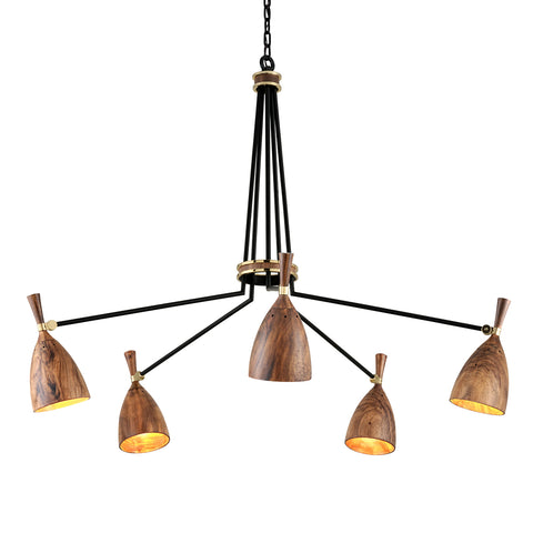 UTOPIA Chandelier 280-05-CE Corbet Lighting
