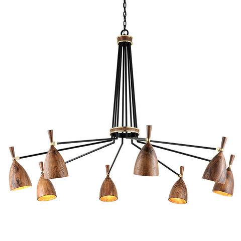 UTOPIA Chandelier 280-08-CE Corbet Lighting