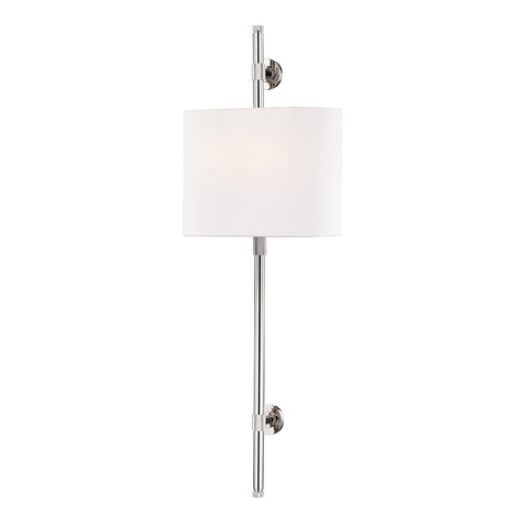 Bowery WALL SCONCE 3722-PN-CE Hudson Valley Lighting