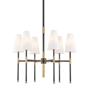 Bowery CHANDELIER 3728-AOB-CE Hudson Valley Lighting