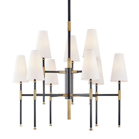 Bowery CHANDELIER 3734-AOB-CE Hudson Valley Lighting