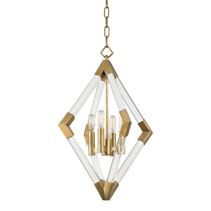 Lyons PENDANT 4617-AGB-CE Hudson Valley Lighting