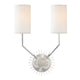 Borland WALL SCONCE 5512-PN-CE Hudson Valley Lighting