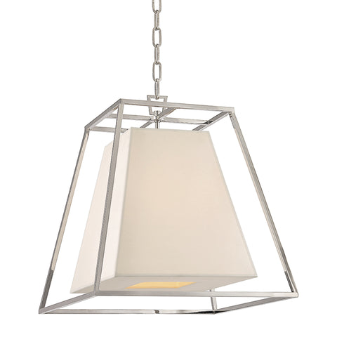 Kyle CHANDELIER 6917-PN-WS-CE Hudson Valley Lighting