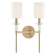 Amherst Wall Sconce 8512-AGB-CE Hudson Valley Lighting