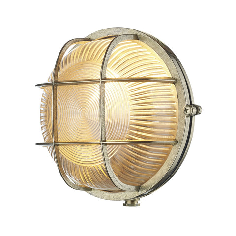 Admiral Round Bulkhead Brass ADM5040 - The Light Company