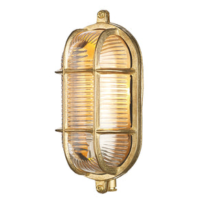 Admiral Small Bulkhead Brass ADM5240 - The Light Company