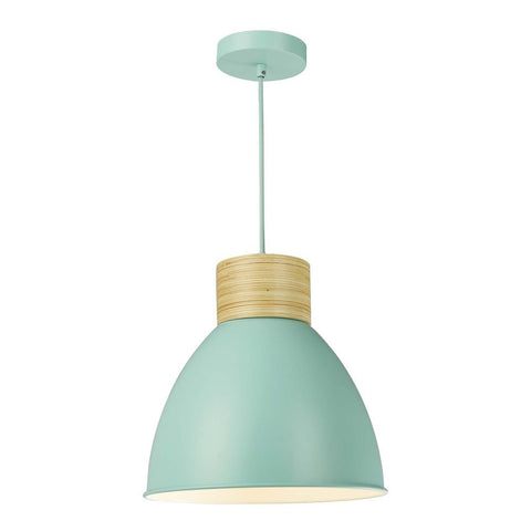 Adna Pendant Green & Wood där Lighting ADN0124