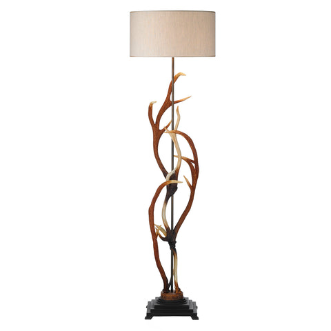 Antler Floor Lamp Complete with Shade