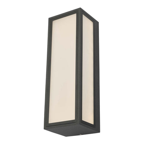 Arham 1 Light Wall Light Anthracite IP65 LED där Lighting ARH2139