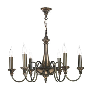 Bailey 6 Light Chandelier BAI06