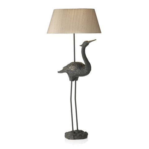 Bird Table Lamp Base Only Black / Gold BIR4233 David Hunt Lighting
