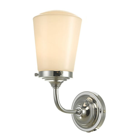 Caden Bathroom Wall Light Polished Chrome CAD0750 där Lighting