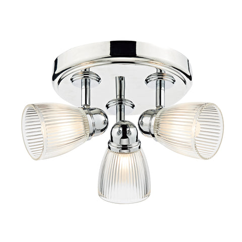 Cedric 3 Light Flush IP44 CED7638