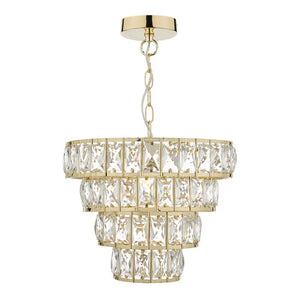 Cerys Gold Pendant där lighting CER0135